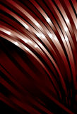 Waving Curve Red line background. Sparkles, top curves, middle curves, back curves and background are on separate layers. Lines are cropped to art board. Simple royalty free illustration