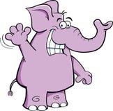 Waving Elephant Stock Images