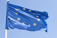 European flag Stock Image
