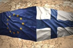 Finland and European Union Stock Photography