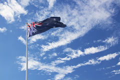 Waving flag Royalty Free Stock Photo