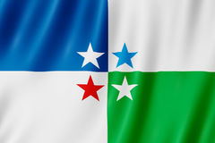 Flag of Avellaneda city, Argentina Royalty Free Stock Photos