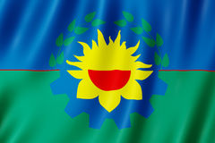 Flag of Buenos Aires Province, Argentina Royalty Free Stock Images
