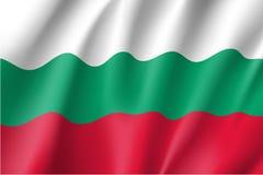Waving flag of Bulgaria Stock Photography