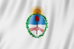Flag of Jujuy Province, Argentina. Waving Flag of Jujuy Province, Argentina Royalty Free Stock Image