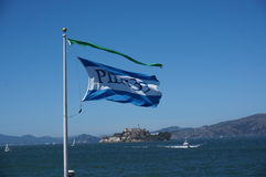 Waving Flag Royalty Free Stock Images