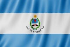 Flag of San Juan Province, Argentina. Waving Flag of San Juan Province, Argentina Stock Photos