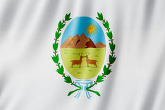 Flag of San Luis Province, Argentina. Waving Flag of San Luis Province, Argentina Stock Images