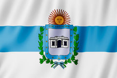 Flag of Tucuman city, Argentina. Waving Flag of Tucuman city, Argentina Royalty Free Stock Images