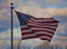Waving flag Royalty Free Stock Photography