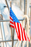 Waving flag of the United States Royalty Free Stock Photos