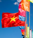 Waving flag of Vietnam Royalty Free Stock Photos