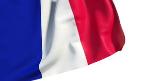 Waving France flag Stock Photography