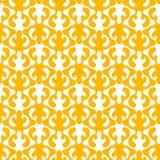 Waving geometric pattern seamless texture. Seamless texture with a yellow geometric pattern. Seamless tile wallpaper background Stock Photos