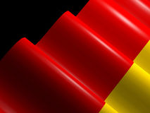Waving germany flag Royalty Free Stock Photo