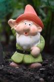 Waving Gnome Royalty Free Stock Photo