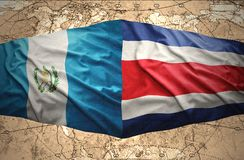 Guatemala and Costa Rica Royalty Free Stock Images