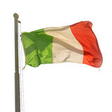 Waving Italian flag Royalty Free Stock Photography