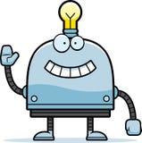 Waving Little Robot Royalty Free Stock Photos