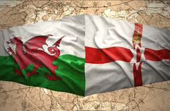 Northern Ireland and Wales Royalty Free Stock Images