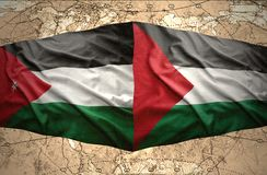 Palestine and Jordan Royalty Free Stock Images