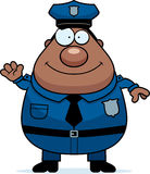 Waving Police Stock Image