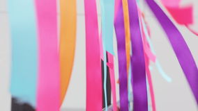 Waving ribbons Royalty Free Stock Image