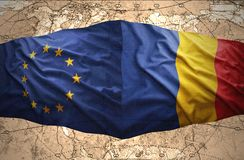 Romania and European Union Royalty Free Stock Images