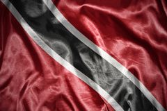 Shining trinidad and tobago flag Royalty Free Stock Photography