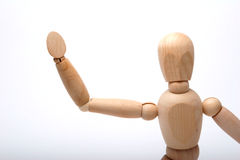 Waving Woody Royalty Free Stock Photos