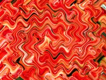 Wavy abstract Stock Image