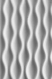 Wavy abstract. Wavy line abstract white plastic texture for background Stock Images
