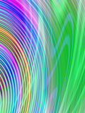 Wavy Abstract Background Royalty Free Stock Photo