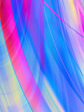 Wavy abstract background Stock Photo