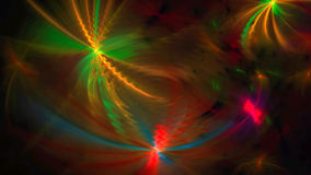 Wavy abstract background with lights Royalty Free Stock Photo