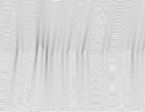 Wavy abstract dark lines. Vector texture stripes Pattern, isolated white background. Able to overlay, easy to change color. Eps vector illustration