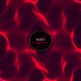 Wavy abstract illustration Stock Images
