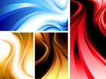 Wavy abstractions Royalty Free Stock Photography