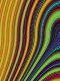 wavy abstrakt bakgrund Arkivbild