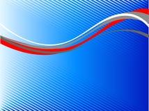 wavy abstrakt linje vektor illustrationer
