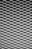 Wavy aluminum background, abstract Stock Image