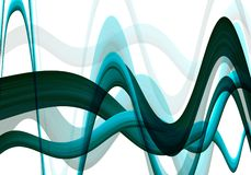 Wavy background. Abstract background stock illustration