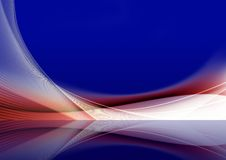 Wavy Background. Colorful abstract  illustration for use as a background Royalty Free Stock Image