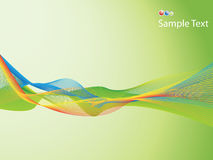 Wavy background Royalty Free Stock Photos