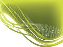 Wavy background Stock Image