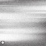 Wavy background. Black and white grainy dotwork design. Pointillism pattern. Stippled vector illustration