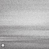 Wavy background. Black and white grainy dotwork design. Pointillism pattern. Stippled vector illustration Stock Image