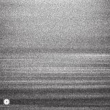 Wavy background. Black and white grainy dotwork design. Pointillism pattern. Stippled vector illustration Stock Photography