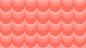 Wavy background in coral shades. vector illustration