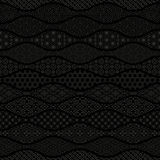 Wavy background with Japanese traditional design. Stock Photography